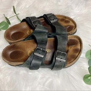 Birkenstock Arizona Soft Footbed Sandal Black 36